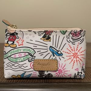 Disney World Dooney and Bourke Cosmetic Bag